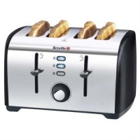 BREVILLE VTT393 BRUSHED STAINLESS STEEL 2 SLICE TOASTER
