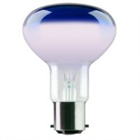BC (B22) R80 Blue Reflector Light Bulbs