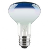 ES (E27) R80 Blue Reflector Light Bulbs