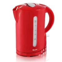 Swan Red 1.7L Cordless Kettle